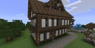 Minecraft Medieval House Designs Minecraft Village House Medieval Seaside Village Town
