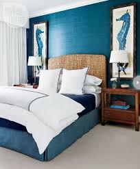 Blue Beach Inspired Bedrooms Beach Theme Master Bedroom