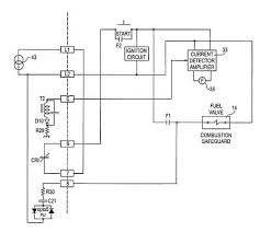 flame detector circuit figure 4 is a simplified wiring diagram illustrating the interconnection of the flame detector combustion safeguard and burner fuel valve for the flame