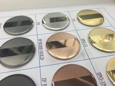 Pvd Coating Colors Google Search Physical Vapor Deposition