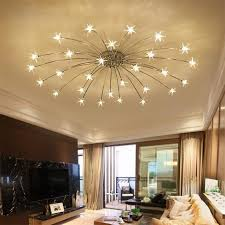 modern lighting. Creative Chandelier Ceiling Bedroom Living Room Modern Lighting Fixture G4  Star Fixtures Lustre LED For Modern Lighting O