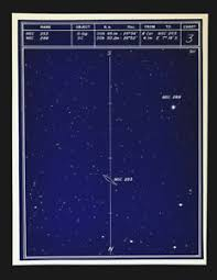 Star Chart Without Constellations Astronomy Deep Sky Star Chart No 3 Constellation Sculptor