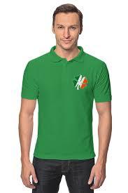 <b>Рубашка Поло Ирландский</b> четырехлистный клевер #1138315 ...