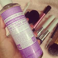 dr bronners magic soap is magic indeed best thing for washing makeup brushes