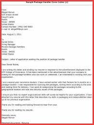 Ups Package Handler Resume Memo Example