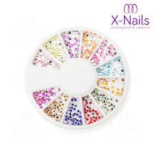 X Nails Zdobící Kamínky Na Nehty 1 Mm Karusel Se Zirkony