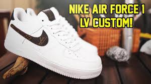 Air Force 1 Design Custom Designer Nike Air Force 1 Timelapse