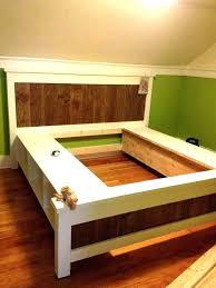 diy king platform bed with storage. Diy King Platform Bed With Storage E