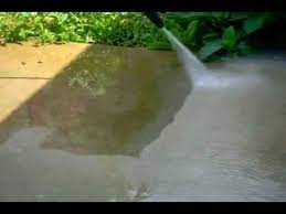 how to clean mold from concrete