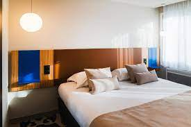 The room was a bit small, the bathroom had good size and amazing water pressure, the bed was too firm for my taste. Hotel Le Bugatti Room Service Disponible Molsheim Updated 2021 Prices