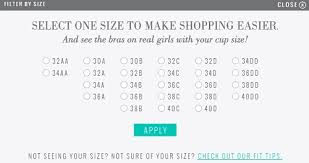 Aerie Size Chart Finally Real Bra Sizing With Aerie Aeriereal Raising