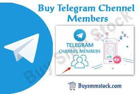 telegram chennel members smm