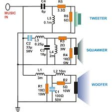 what are three way speaker crossovers crossover networks briefly 3 way speaker crossovers circuit diagram image