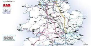 uk national rail route map mytrainticket National Rail Map national rail accredited section of uk train operating companies route map national rail map pdf