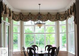 Valances and decorative hardware are a Beautiful Combination