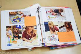 Student Portfolios A Day In First Grade Using Student Portfolios In A Kindergarten