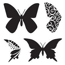 the crafter s workshop 6 x 6 design template butterfly color