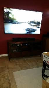 65 tv wall mounting with wires concealed texas home how high to mount 65 tv on