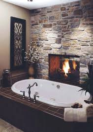 gray stone fireplace wall color accent ideas for various rooms rough with a makes bathroom inviting stone wall fireplace