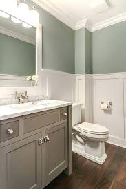 green gray bathroom tranquil bathroom features upper walls painted gray green and lower walls clad in green gray bathroom