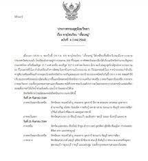 ประกาศ กรมอุตุนิยมวิทยา ฉบับที่ 4 พายุโซนร้อน