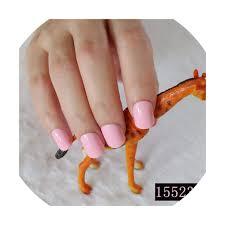 Pre Designed Nails Amazon Com Fake Nails Short Round Soft Pre Designed Nail