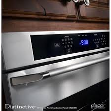dacor distinctive dto227fs 27 in 9 3 cu ft electric convection sabbath mode delay bake double wall oven
