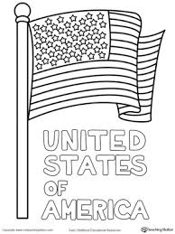Small Picture United States of America Flag Coloring Page MyTeachingStationcom