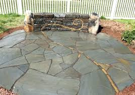 installing flagstone patio over concrete cost to install flagstone over concrete patio picture concept
