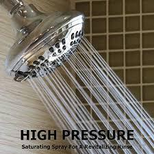 aqua elegante 6 function luxury shower head best high pressure wall mount adjule showerhead