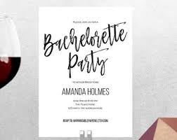 Bachelorette Party Invitations | Etsy
