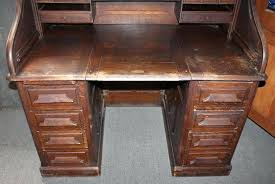 mesmerizing roll top desk this amazing century roll top desk was manufactured by the furniture company