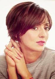 picture of cute chestnut short haircut for thin fine hair cute short hairstyles for thin hair