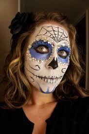 dia de los muertos sugar skull face paint tutorial
