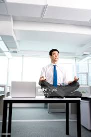how to meditate in office. Meditation Office. In The Office : Stock Photo E How To Meditate