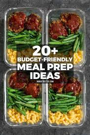 Weekly Lunch Prep 30 Budget Friendly Meal Prep Ideas Budget Bytes