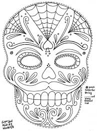 Small Picture Download Free day of the dead coloring pictures free printable