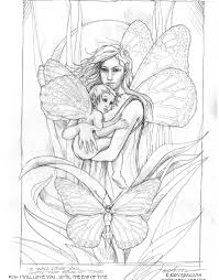 Difficult Coloring Pages For Adults Mermaid Blog Free Fairy