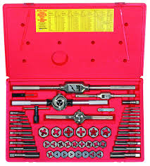 Tap And Die Set Chart 54 Pc Tap And Hex Die Set