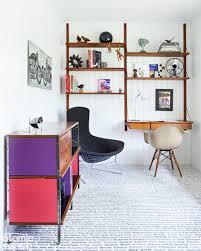stylish home office computer room. Midcentury Home Office Stylish Computer Room B