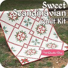 Sweet Scandinavian Quilt Kit<BR>Featuring Winterlude by 3 Sisters ... & Sweet Scandinavian Quilt KitFeaturing Winterlude by 3 Sisters - Quilt Kits Adamdwight.com