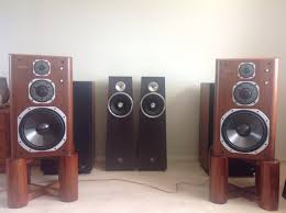 infinity qa speakers. yamaha ns-2000 heaven - they are 33 years old and fantastic easily match 30k speakers i have heard for transparency, dynamics, timing speed. infinity qa