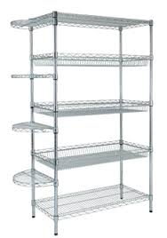 our chrome wire shelving system offers simple to build and stylish storage solution the chrome wire is ideal for home office as well retail racking u81 racking