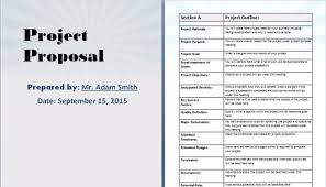 Proposal Templates Free 7 Free Project Proposal Templates For Any Projects