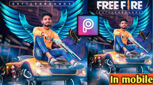 Free Fire Photo Editing In Picsart ...