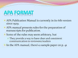 Ppt Apa Format Powerpoint Presentation Id684853