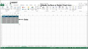 Excel Charts Stock Chart