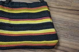 how to make a gear bag from dollar rag rugs