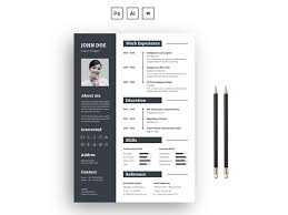 How Many Pages Is A Modern Resume 2 Pages Modern Resume Template By Thestyle On Dribbble