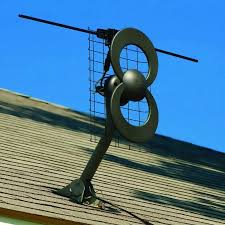 tv antenna clearstream 2v indoor outdoor hdtv antenna roof view